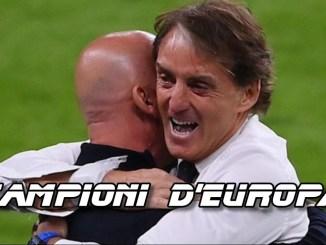 Europei: Italia campione, Inghilterra battuta ai rigori, il calcio ritorna a casa