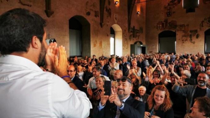 Lunedì 19 luglio a Orvieto, Matteo Salvini inaugura sede lega