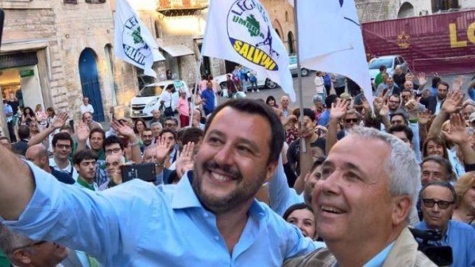 Annuncio Caparvi, ingressi Lega, Ruspolini, ridicolo riciclaggio sospesi da partito