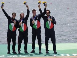 Canottaggio, Tokyo 2020, medaglia di bronzo per il quattro senza azzurro