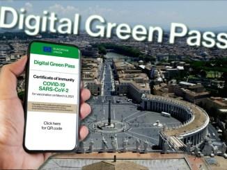 Covid: ok Ue a Green Pass SarsCov-2 Vaticano e San Marino