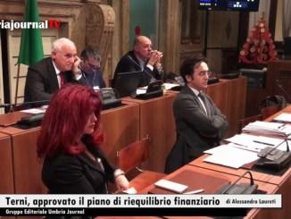 Comune di Terni, approvato il piano di riequilibrio finanziario