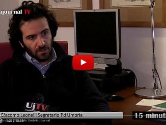 15 minuti con Giacomo Leonelli intervista in studio di Marcello Migliosi