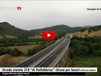 """Anas, chiusa temporaneamente la strada statale 318 """"di Valfabbrica"""""""