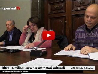 Patrimonio Culturale Umbria, oltre 14 milioni euro per attrattori culturali