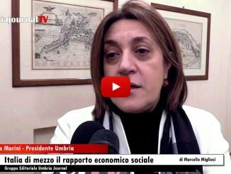 Umbria tra Toscana e Marche, presentato rapporto economico sociale