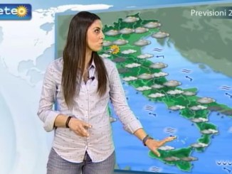 Nubifragi in Calabria, piogge al Centro-Sud