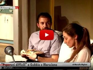 Peperoni difficili nei teatri di Gubbio e Marsciano, opera da sold out