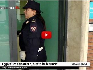Viaggia sul treno Foligno Roma senza biglietto e aggredisce capotreno durante controllo, denuncia per lui