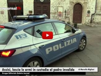 Assisi, lascia le armi in custodia al padre invalido, denunciato