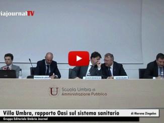 Villa Umbra, presentato il rapporto Oasi sul sistema sanitario