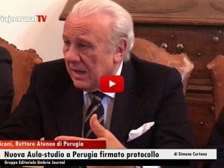 A Perugia, nuova aula studio in via Goldoni firma intesa tra Comune, Università e Borgorete