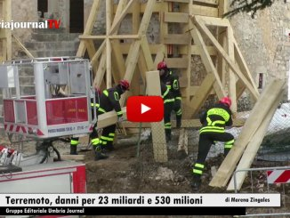 Terremoto, sono 23,5 miliardi di danni, fascicolo trasmesso a Bruxelles