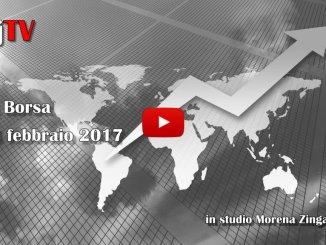 La Borsa di Umbria Journal TV, 24 febbraio 2017, giù per tensioni politiche in Europa