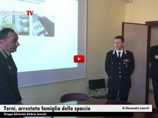 Droga a domicilio, arrestata dai carabinieri una famiglia a Terni