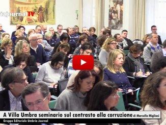 Villa Umbra, contrasto alla corruzione, l'Umbria tra le più virtuose