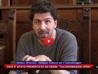 Stefano Venarucci, delegato Ente Calendimaggio di Assisi, spiega Calendimaggio Open