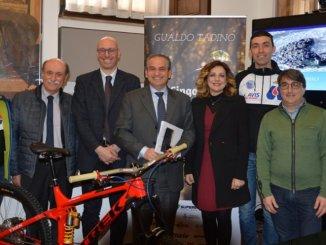 Gualdo Tadino pedala con la Cingolani Rokketta legend Superenduro
