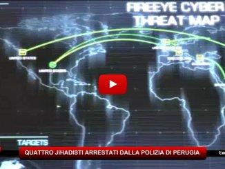 Terrorismo, 4 jihadisti collegati con l'Isis arrestati da Polizia Perugia, operazione Da'Wa