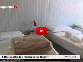 Terremoto, a Norcia altri due container da 48 posti