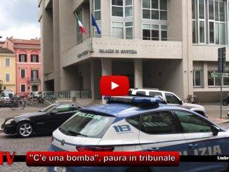 Bomba al Tribunale di Terni, ma era un falso allarme