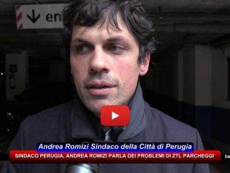 Ztl e parcheggi, intervista con sindaco di Perugia, Andrea Romizi
