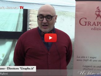 Graphe.it edizioni a Un Libro alla volta Umbria Journal Tv