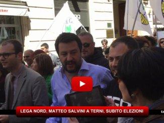 Lega Nord, Matteo Salvini a Terni, chi ha sbagliato deve pagare