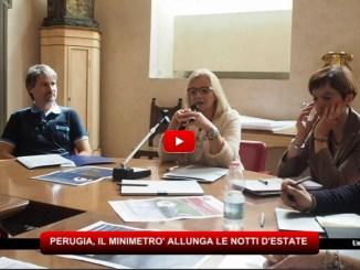 Eventi Perugia, il Minimetrò allunga le notti d'estate