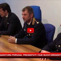 Questura di Perugia, arrivati due nuovi dirigenti, Bonafini e Giudice