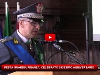 Gdf, celebrato 234/o anniversario della fondazione