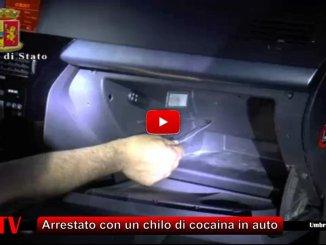 Arrestato a Terni con un chilo di cocaina purissima