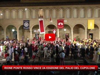 Rione Ponte Rosso vince il Palio del Cupolone aSanta Maria degli Angeli