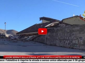 Lavori serrati su strada Castelluccio, obiettivo riaprire a senso unico alternato per il 30 giugno