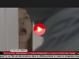 Elle di Paul Verhoeven è il film in proiezione il 9 luglio a Frontone Cinema
