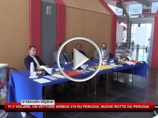 FlyVolare posiziona un airbus A319 all'aeroporto dell'Umbria, nuove rotte