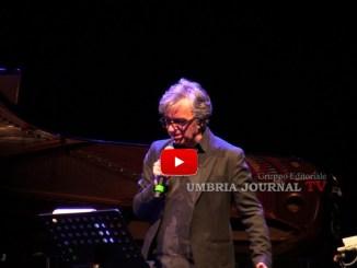 Umbria Jazz, Gaetano Curreri ricorda Lucio Dalla ma parla anche di Vasco