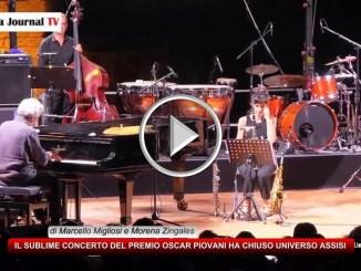 Nicola Piovani suona ad UniversoAssisi con la Musica è pericolosa