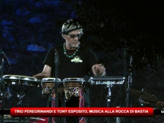 Trio Peregrinandi e Tony Esposito alla Rocca di Bastia Umbra