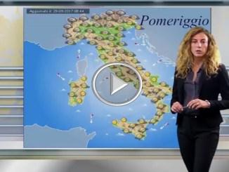 Meteo 30 settembre 2017, piogge al Sud Italia e settori alpini di confine