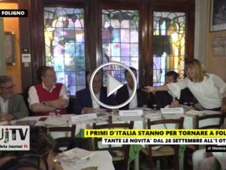 I Primi d'Italia stanno per tornare a Foligno