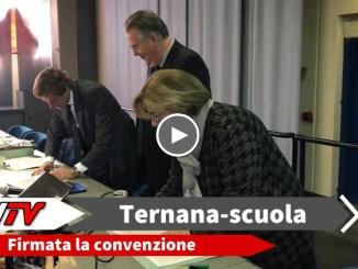"""Siglata la convenzione tra Ternana e Istituto """"Casagrande-Cesi"""". Nasce il progetto di alternanza scuola-lavoro con il calcio."""