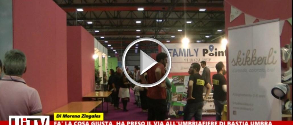 Inaugurata a Bastia Umbra la quarta edizione di Fa' la cosa giusta