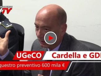 Sequestro preventivo a carico di un detenuto calabrese, 600 mila euro