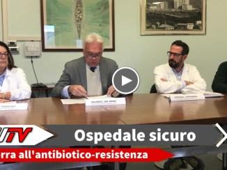 Ospedale di Terni più sicuro! E' guerra all'antibiotico-resistenza. Raggiunti in anticipo gli obiettivi fissati dal Ministero della Salute per il 2020.