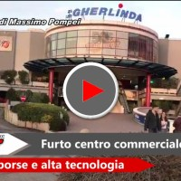 Furti in due negozi all'interno del centro commerciale a Perugia, il video
