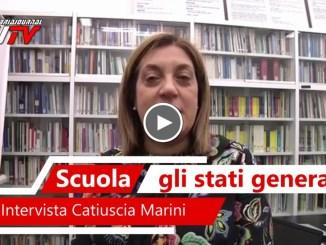 Marini conclude Stati generali della scuola in Umbria, intervista video