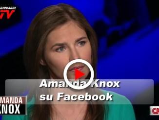 Amanda Knox presenta un programma in onda su Facebook