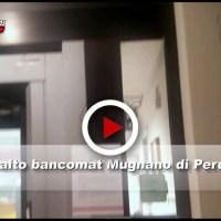 Assaltato bancomat, il video dell'esplosione a Mugnano di Perugia