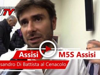 Alessandro Di Battista del Movimento 5 Stelle ad Assisi, il video